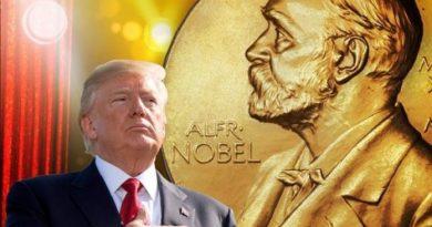 Donald Trump nominalizat la Premiul Nobel pentru Pace în 2021