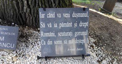 Avram Iancu în PANTEONUL MOȚILOR de la Țebea