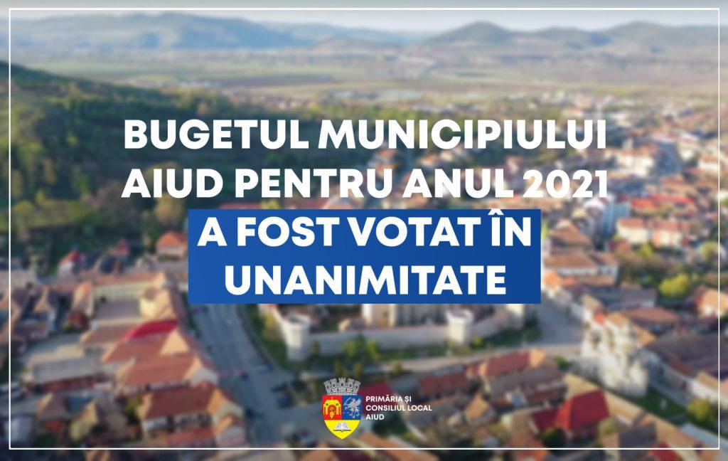 Ședința extraordinară a Consiliului Local Aiud din data de 19.04.2021. S-a votat bugetul local