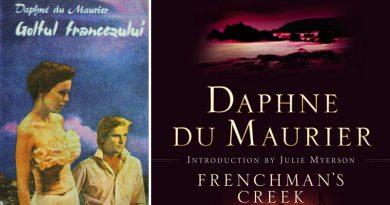 """""""Golful Francezului"""" este un roman de dragoste scris de către Daphne du Maurier"""
